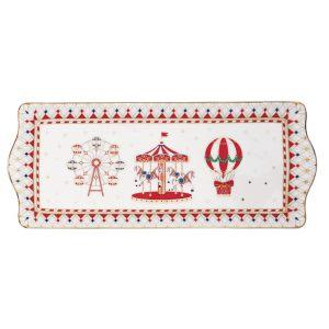 """Блюдо сервировочное """"Christmas Wonderland"""" в подарочной упаковке 35х15 см"""