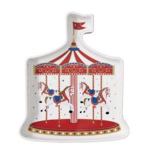 """Блюдо """"Christmas Wonderland"""" в форме карусели в подарочной упаковке"""