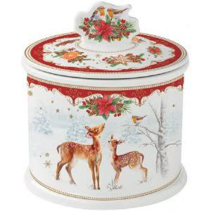 """Банка для печенья """"Christmas melody"""" в подарочной упаковке"""
