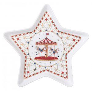 """Блюдо """"Christmas Wonderland"""" в форме звезды в подарочной упаковке"""