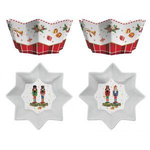 """Набор из 2 салатников """"VINTAGE NUTCRACKER"""" в подарочной упаковке"""
