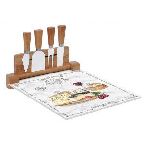 """Набор для нарезки сыра """"Les Fromages"""" в подарочной упаковке"""