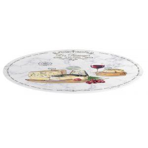 """Вращающееся блюдо для сыра """"Les Fromages"""" в подарочной упаковке"""
