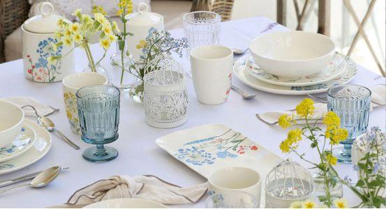 Коллекция Mille fleurs - свежесть летнего утра!