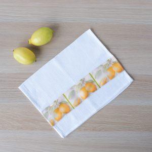 """Полотенце кухонное """"Спелые лимоны"""""""