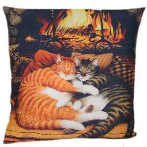 Декоративная подушка Кошечки