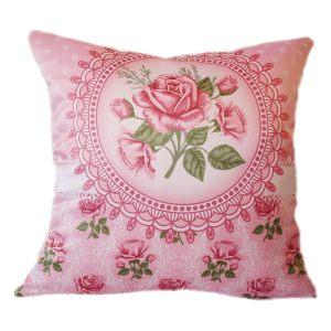 Подушка шебби rose