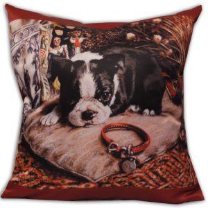 Декоративная подушка Щенок