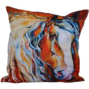 Подушка с лошадкой-6