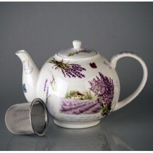 Чайник с ситечком Букет лаванды