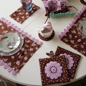 Кухонный комплект Шоколадница