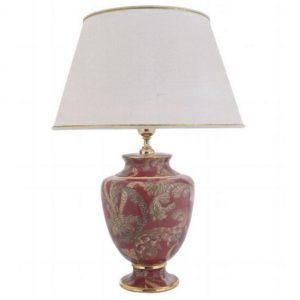 Лампа 4MS высотой 22 cm с абажуром 21hx35 cm Лондон