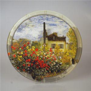 Часы настенные стеклянные Дом художника