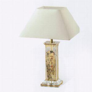 Лампа настольная стеклянная Поцелуй