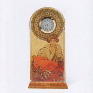 Часы стеклянные Топаз