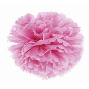 Малый цветок бумажный розовый