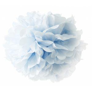 Цветок нежно голубой бумажный