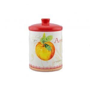 Банка для сыпучих продуктов Яблоки 15 см