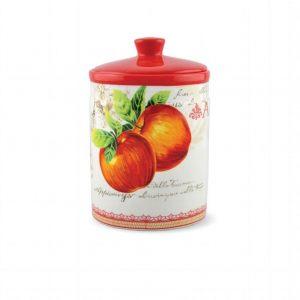 Банка для сыпучих продуктов Яблоки 18 см