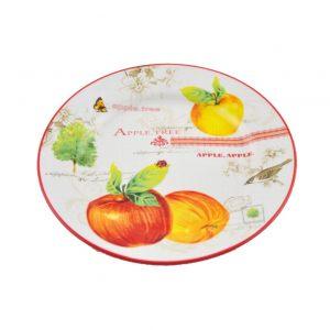 Тарелка закусочная Яблоки