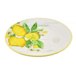 Тарелка закусочная Лимоны