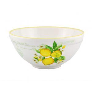Салатник глубокий Лимоны 15 см