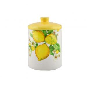 Банка для сыпучих продуктов Лимоны 15 см