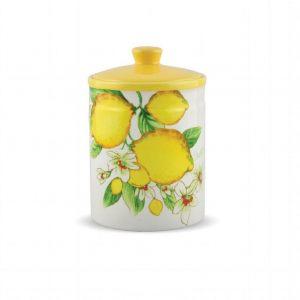 Банка для сыпучих продуктов Лимоны 18 см
