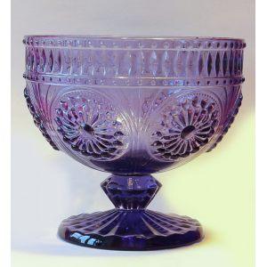 Конфетница из стекла Фиолет