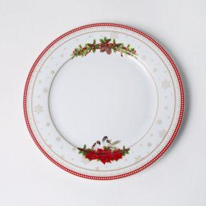 Тарелка обеденная Счастливый Новый Год