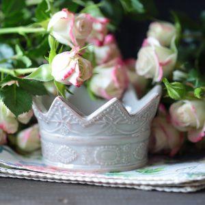 Вазочка в виде короны