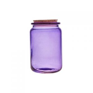 Фиолетовая банка для продуктов 1,4 л