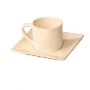 Кофейная пара MIKASA Stoneglaze white