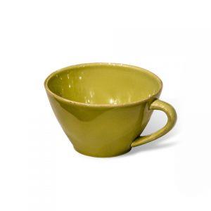 Чаша с ручкой COSTA NOVA 18 см зеленый