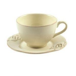 Чайная пара COSTA NOVA Mediterranea кремовый