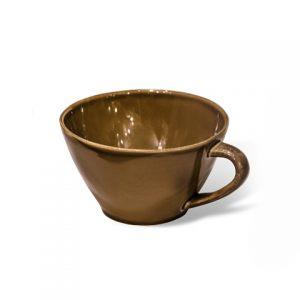 Чаша с ручкой COSTA NOVA 18 см коричневый
