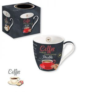 """Кружка """"Красная чашка"""" Итальянский кофе 350 мл"""
