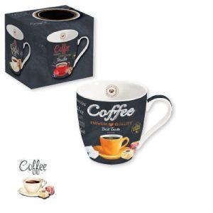 """Кружка """"Желтая чашка"""" Итальянский кофе 350 мл"""