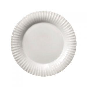 Тарелка COSTA NOVA Village 28 см белый