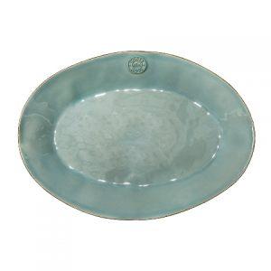 Блюдо овальное COSTA NOVA 40 см голубой