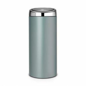 Мусорный бак Brabantia TOUCH BIN - Metallic Mint (мятный металлик)
