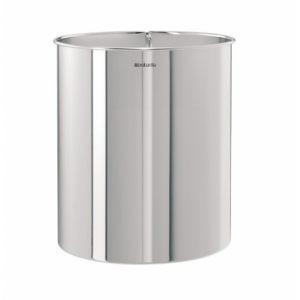 Корзина для бумаг Brabantia прямая - Brilliant Steel (полированная сталь)