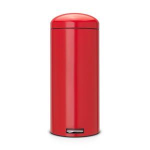 Мусорный бак Brabantia Retro SLIM - Passion Red (красный)