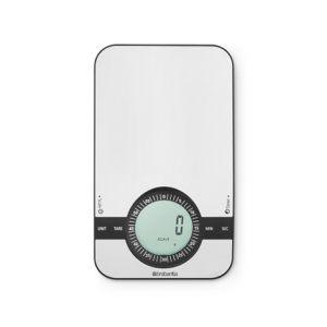 Кухонные весы цифровые Brabantia - Matt Steel (матовая сталь)