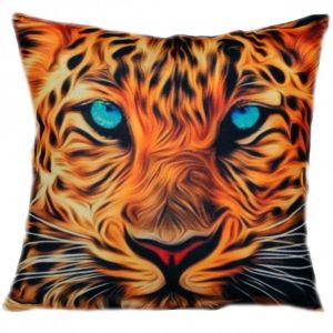 Декоративная подушка с тигром