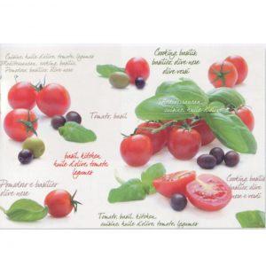 Салфетка под горячее Помидоры и оливки