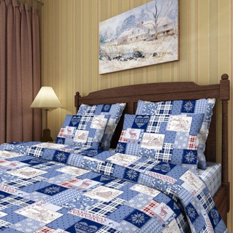 """Комплект постельного белья """"Зимний пейзаж"""""""