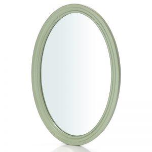 """Овальное зеркало Mobiler de Maison Venice verte """"Венецианская зеленая"""""""