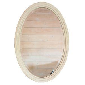 """Овальное зеркало Mobiler de Maison Blanc bonbon """"Белая карамель"""""""