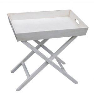 """Раскладной столик Mobiler de Maison Blanc bonbon """"Белая карамель"""""""